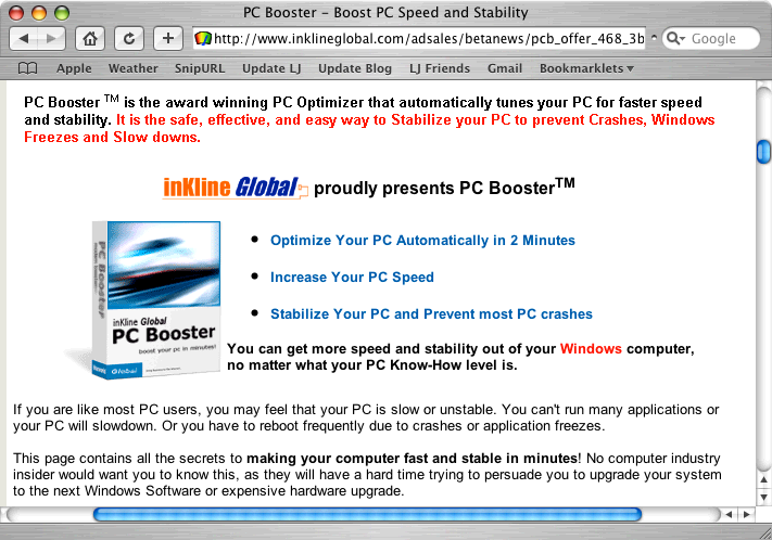 PC Booster: You can get more speed and stability out of your Windows computer...